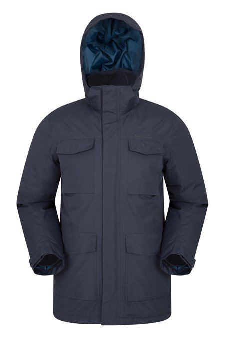 024714 CONCORD DOWN PADDED LONG JACKET