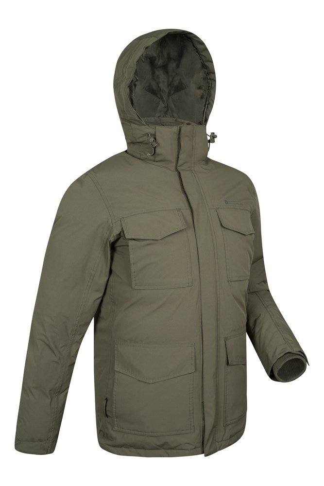 Concord Extreme Mens Down Long Jacket | Mountain Warehouse GB