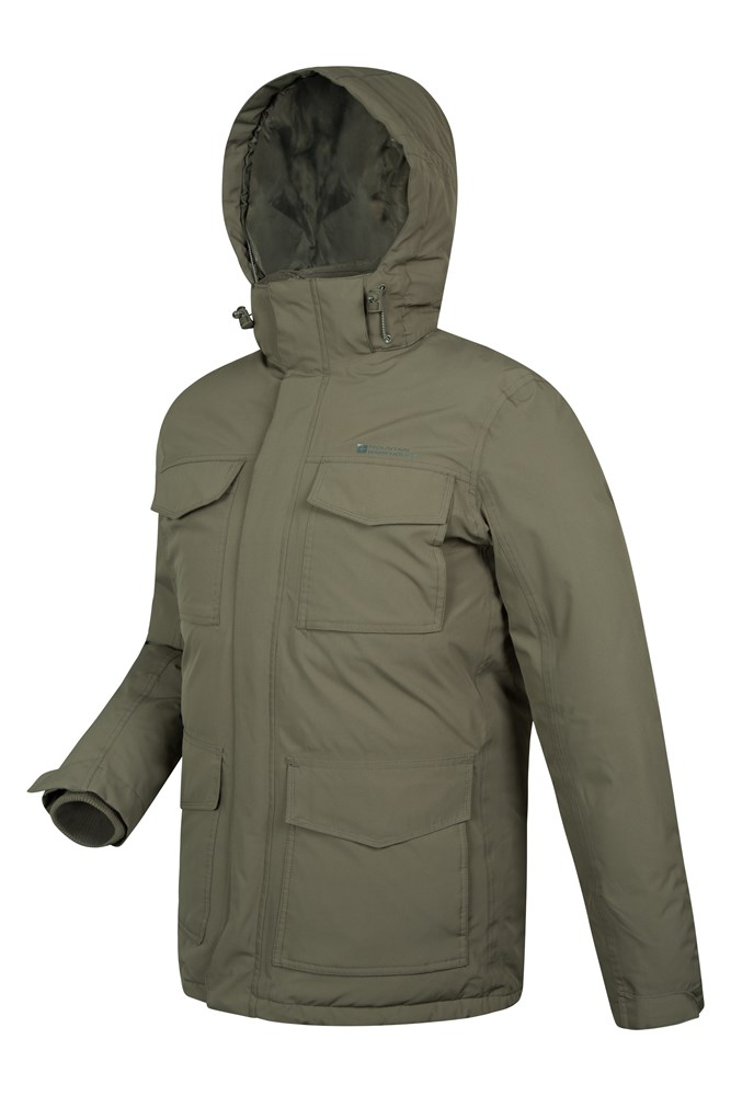 Concord Extreme Mens Down Long Jacket | Mountain Warehouse CA