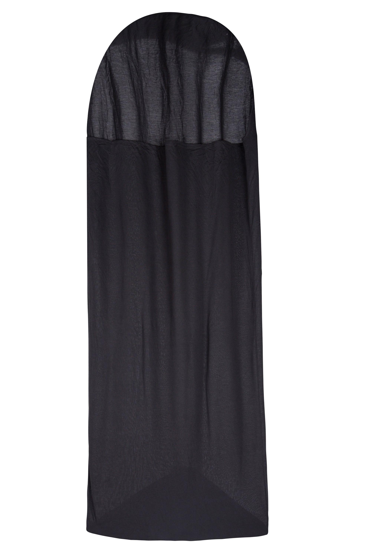 Thermal Mummy Sleeping Bag Liner – Black