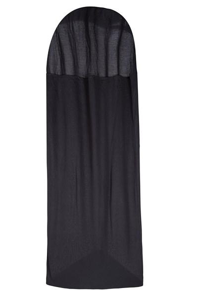 Thermal Mummy Sleeping Bag Liner - Black