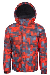 Checker Youth Snow Jacket