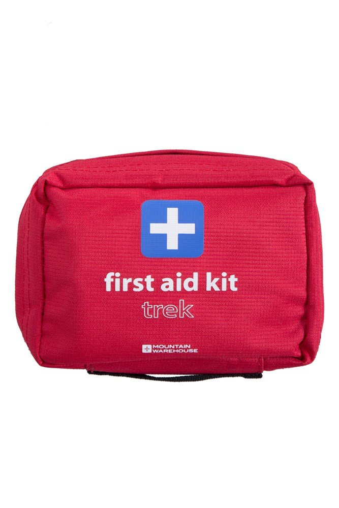 Trek First Aid Kit - Red