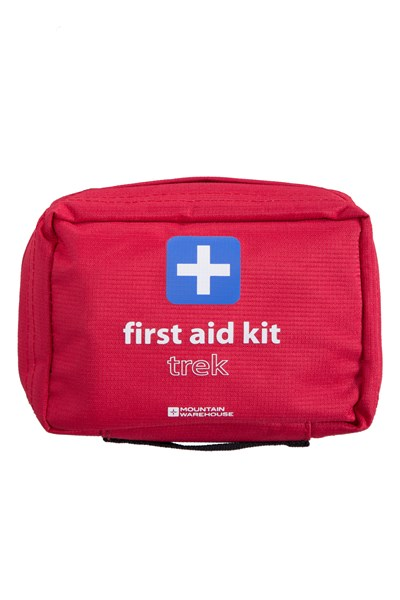 Trek First Aid Kit - Red