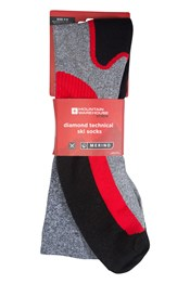 Diamond Technical Mens Ski Socks