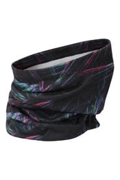 Printed Fleece Womens Neck Gaiter
