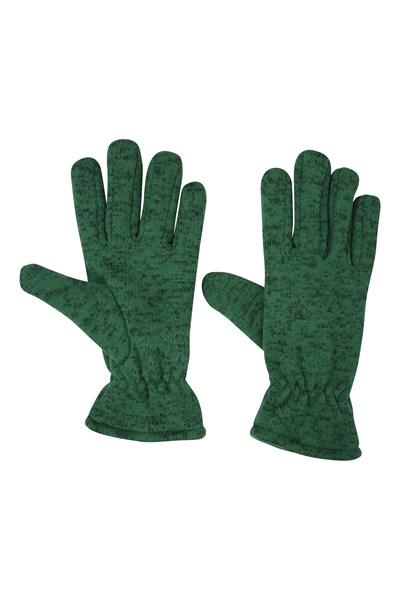 Nevis Womens Fleece Gloves - Green