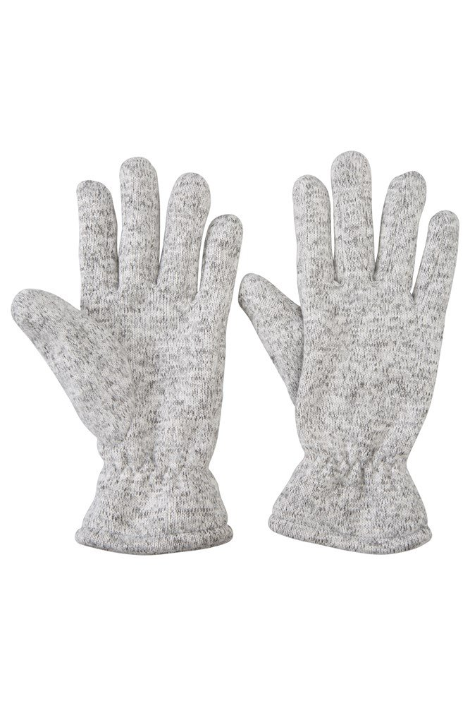 Nevis Womens Fleece Gloves - Grey