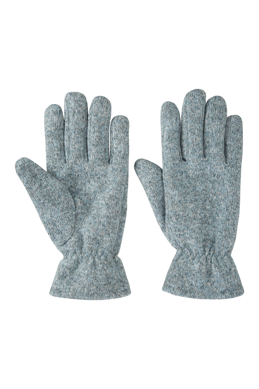 Nevis Womens Fleece Gloves - Blue