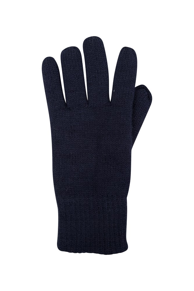 Thinsulate Womens Knitted Gloves - Navy