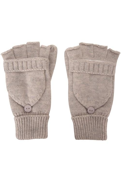 Fingerless Knitted Womens Mitten | Mountain Warehouse NZ