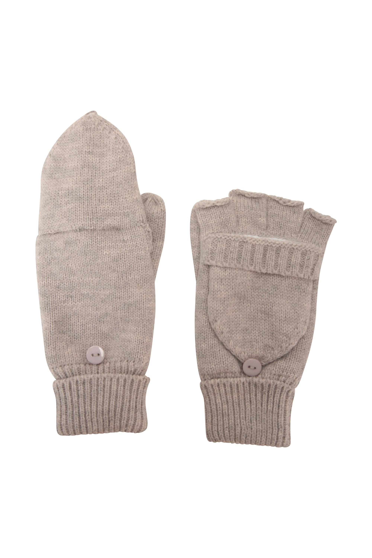 Fingerless Knitted Womens Mitten | Mountain Warehouse CA
