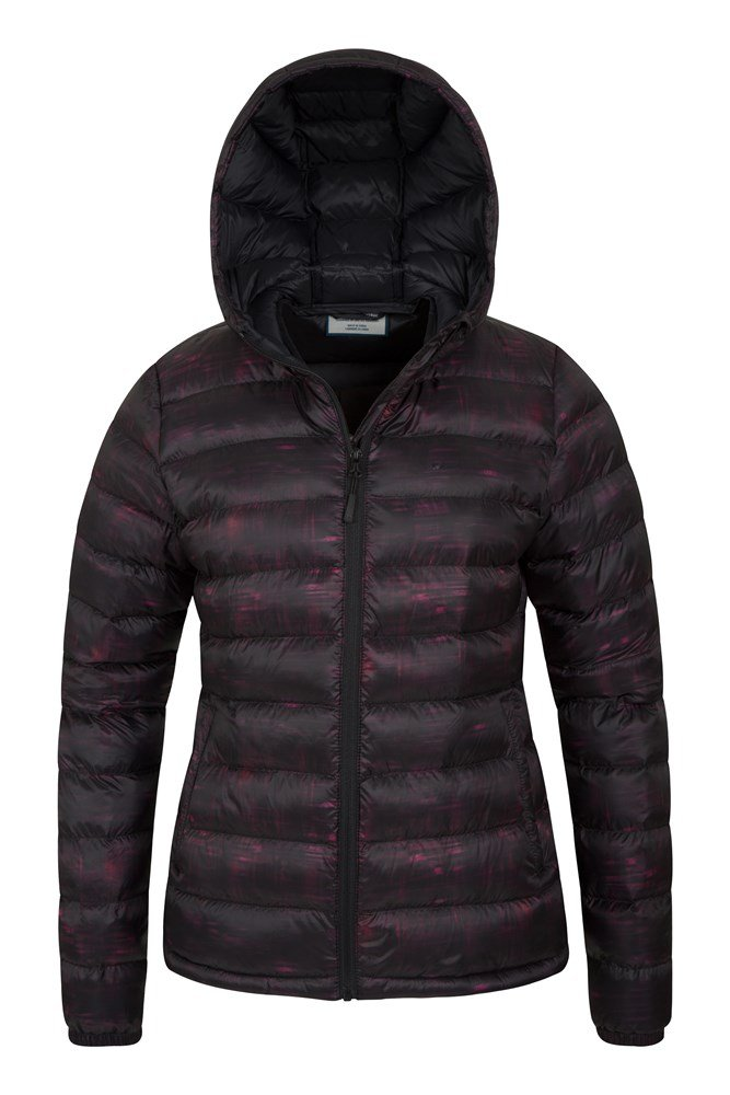 Seasons Womens Printed Padded Jacket | Mountain Warehouse GB