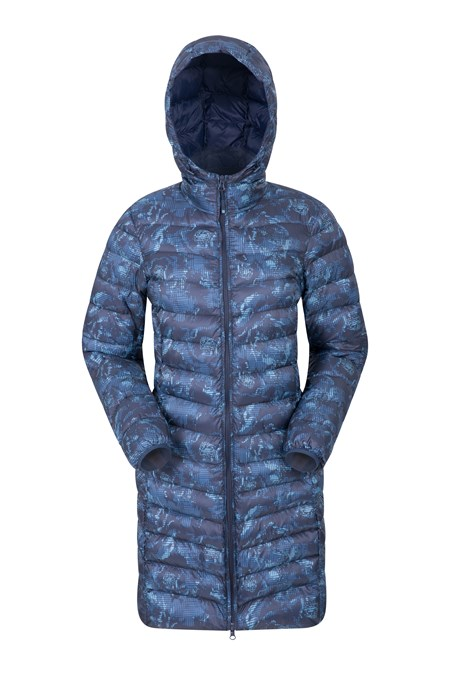 024779 FLORENCE LONG PRINTED PADDED JACKET