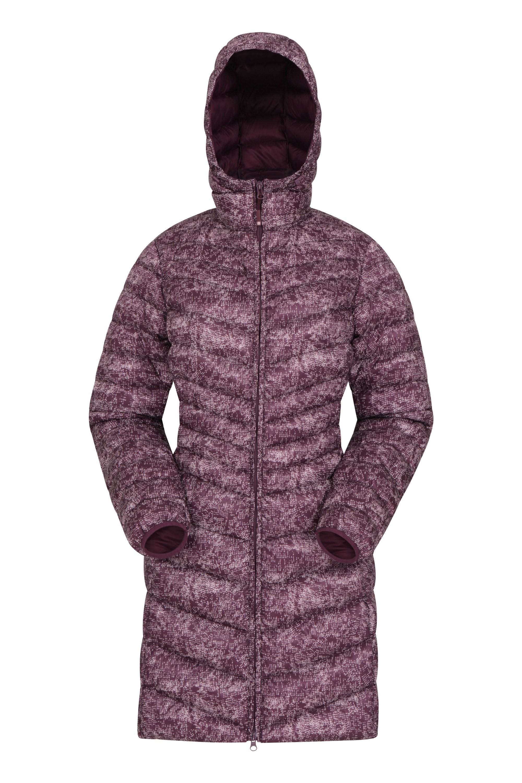 Florence - pikowana kurtka damska - Burgundy