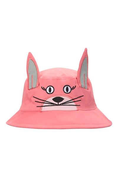 Character Kids Bucket Hat - Light Pink