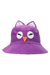 Owl Kids Bucket Hat