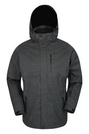 Bracken Melange 3 in 1 Mens Jacket