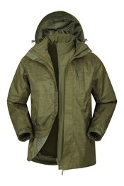 Bracken Melange 3 in 1 Herrenjacke