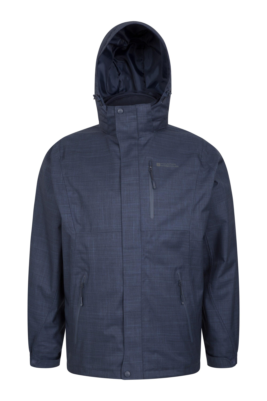 024805 nav bracken 3 in 1 melange waterproof jacket men ss18 01