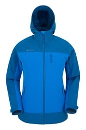 Whirlwind Mens 2-Tone Stretch Softshell Jacket