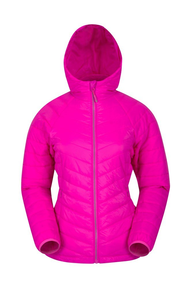 Dew Womens Padded Jacket - Pink