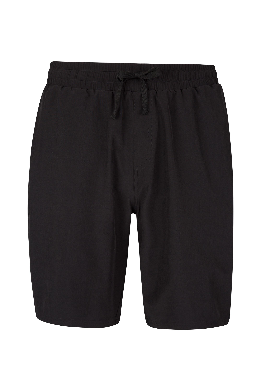 Hurdle Mens Running Shorts - Black