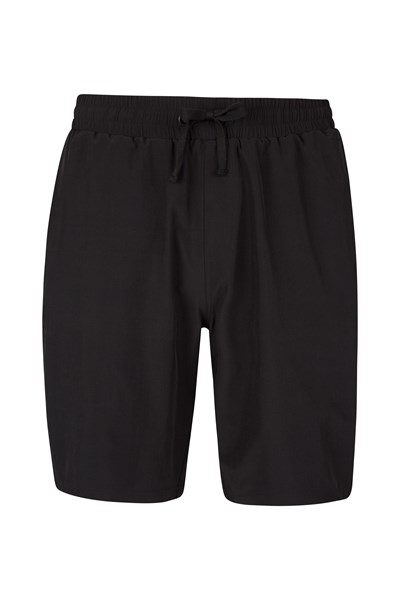 Hurdle Mens Running Shorts - Black