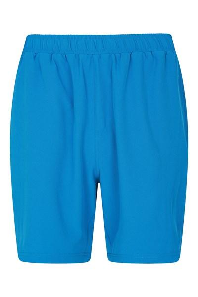 Hurdle Mens Running Shorts - Blue