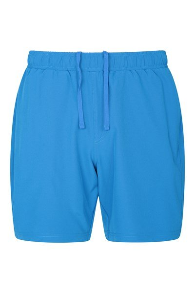 Hurdle Mens Running Shorts - Blue