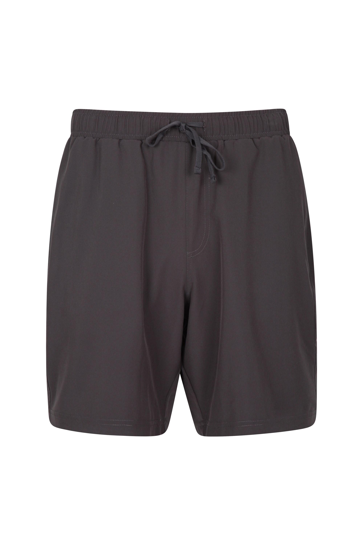 Hurdle Mens Running Shorts - Grey
