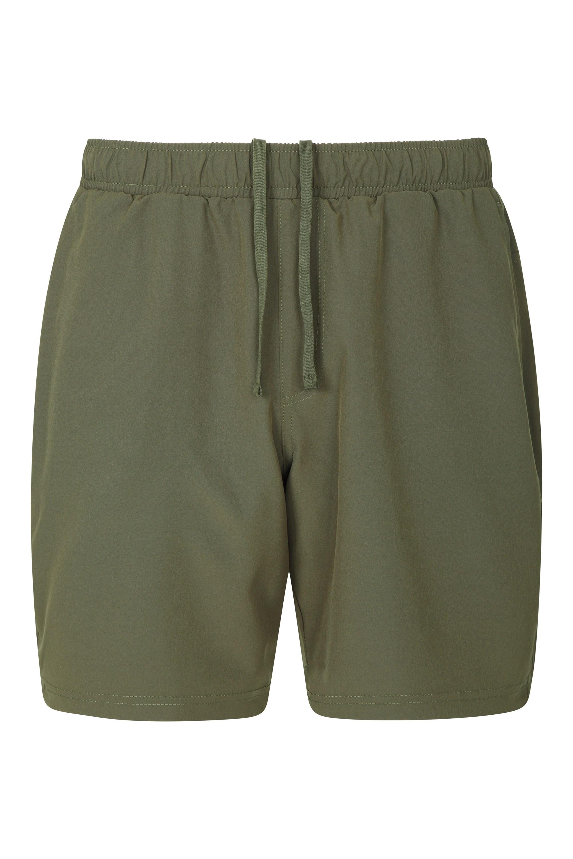 Hurdle Mens Running Shorts - Green