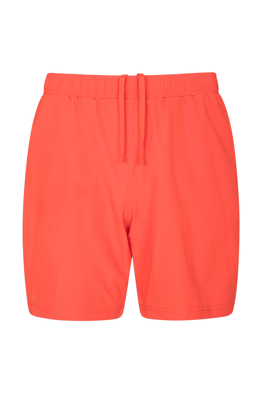 Hurdle Mens Running Shorts - Orange
