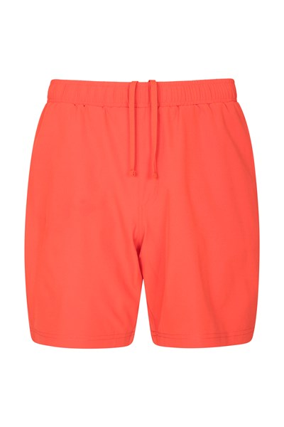 Hurdle Mens Running Shorts - Orange