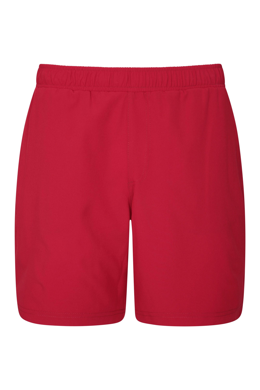 Hurdle Mens Running Shorts - Red