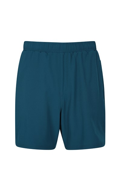Hurdle Mens Running Shorts - Teal