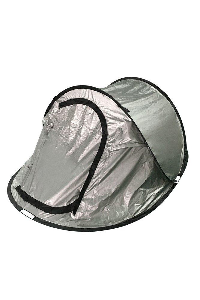 Black Out Pop-Up Double Skin 3 Man Tent - Silver  sc 1 st  Mountain Warehouse & Black Out Pop-Up Double Skin 3 Man Tent | Mountain Warehouse GB