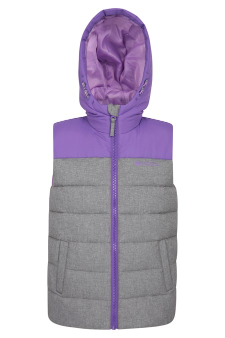024839 ROCKO KIDS TEXTURED WATER RESISTANT PADDED GILET