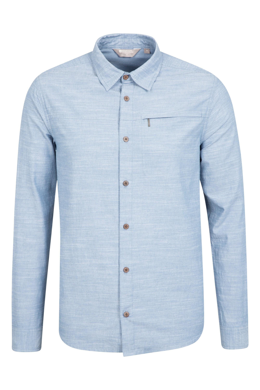 Chemise à manches longues Hommes Coconut - Bleu