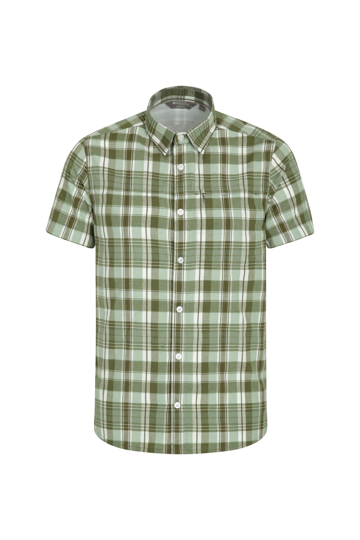 Holiday Mens Cotton Shirt - Grey