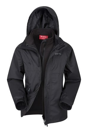 Bracken Extreme Kinder 3 in 1 Jacke