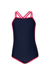 Criss Cross Sporty Swimsuit