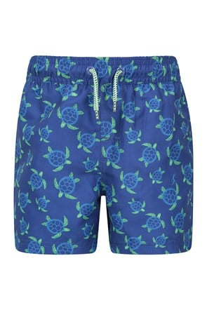 Patterned Kids Boardshorts