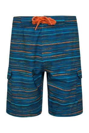 Patterned Boys Boardshorts