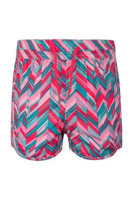 024858 PATTERNED GIRLS BOARDSHORTS