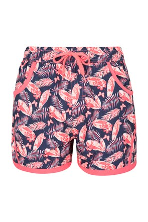 Patterned Girls Boardshorts