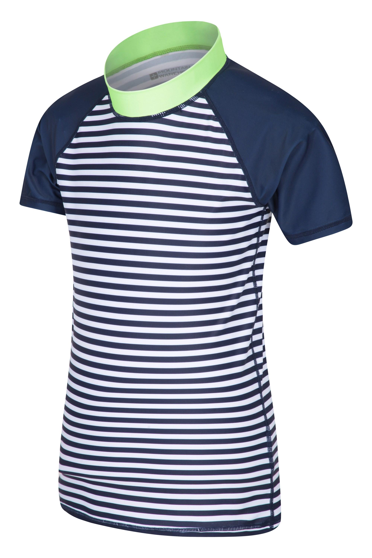 Mountain Warehouse Wms Womens Patterned UV Long Sleeved Zip Rash Vest
