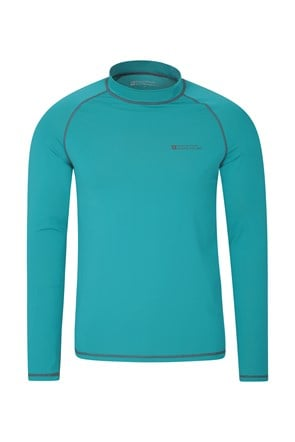 Mens Long Sleeve Rash Vest