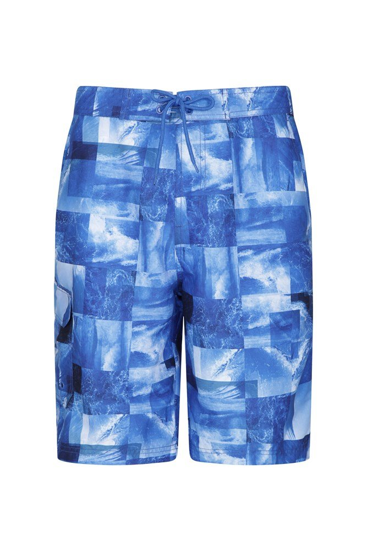 Short de Bain Imprimé Hommes Ocean - Bleu