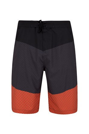 Wave 4-Way-Stretch Mens Boardshorts